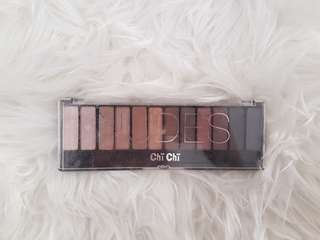 Chi Chi nudes eyeshadow palette