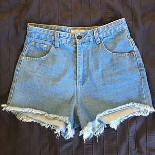 Cheep Denim Shorts