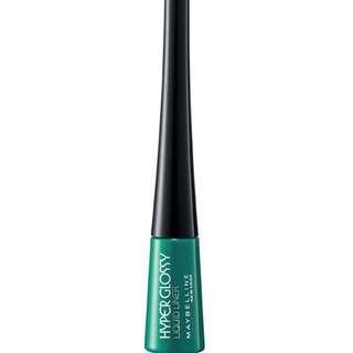 maybelline lazer green hypergloss eyeliner