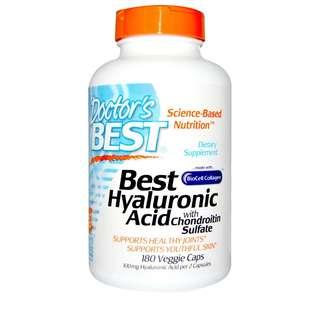 🚚 「老婆有吃才團購」Doctor's BEST HYALURONIC ACID 玻尿酸 軟骨素 180顆 葡萄糖胺