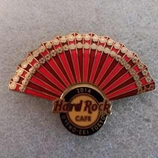 Hard Rock Cafe Pins ~ UYENO~EKI HOT 2014 JAPAN FAN SERIES!