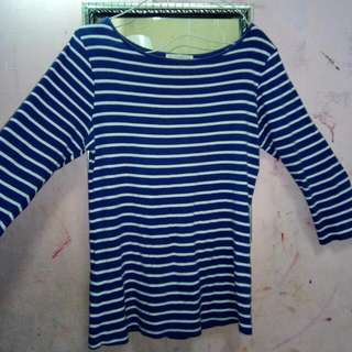 Kaos Zara Navy