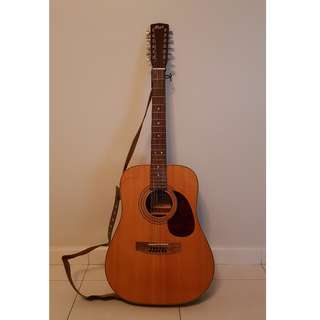 Cort - Acoustic Western Guitar, 12 Stringed
