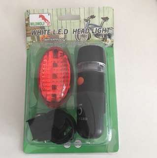 Bicycle Light head light LED white light