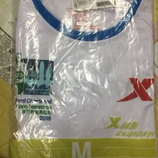全新渣打香港馬拉松2016衫M碼