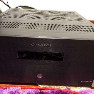 Emotiva power amp and pre amp for sale!
