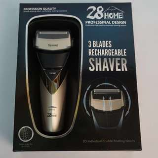 3 Blades Rechargeable Shaver