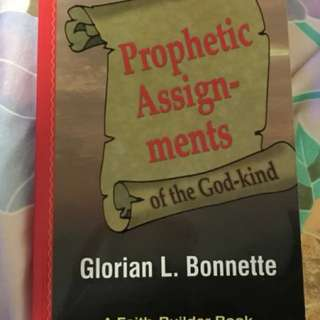 Choose 5 items for $15: Prophetic Assignment of the God Kind