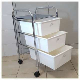 Plastic Drawers With Metal Frame