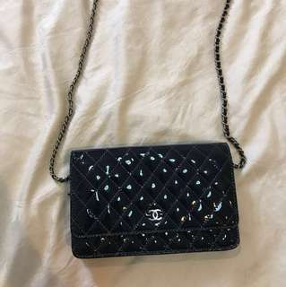 Chanel wallet on chain MIRROR