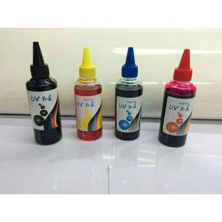 Uv dye ink for epson , canon , brother and hp (100 ml)