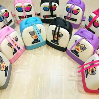 Pre Order: Jelly Backpack w/ Character