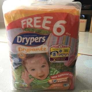 Drypers Drypantz - XL (Twin pack)