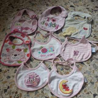 Baby Bibs (8pcs)