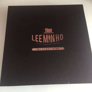 LEE MINHO FIRST SPECIAL ALBUM - MY EVERYTHING