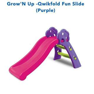 Grow'N Up slide for toddlers