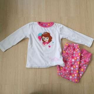Sofia the First Fleece Pyjamas