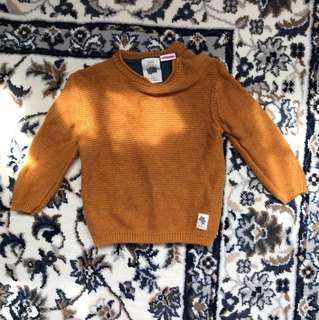 knitwear zara 6-9 months