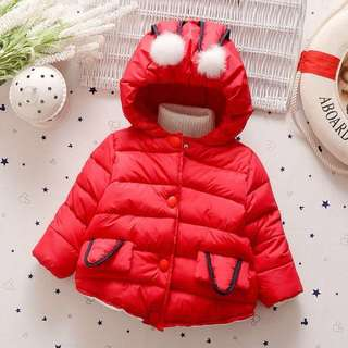 Baby Girl Winter / Autumn Jacket Red
