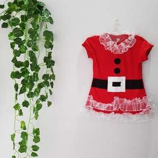 805 dress natal anak balita
