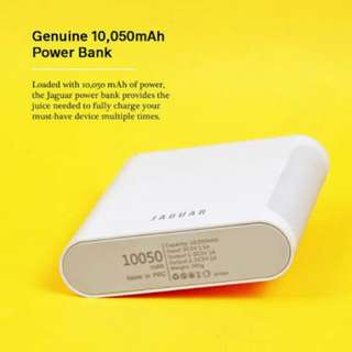 Authentic Jaguar Powerbank (10,050 mph)