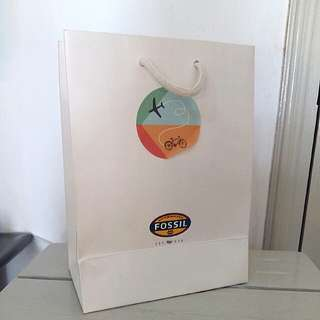 Fossil paper bag