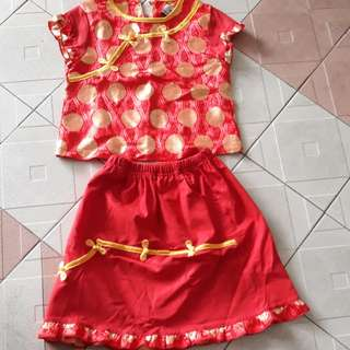 CNY Girl's Dress