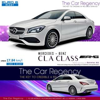 Mercedes Benz CLA 180 Coupe AMG Line Panoramic