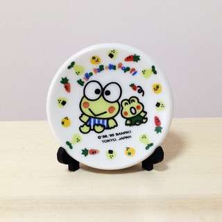中古日本扭蛋 Vintage Kero Keroppi Display Disk Year 1995 SARIO JAPAN