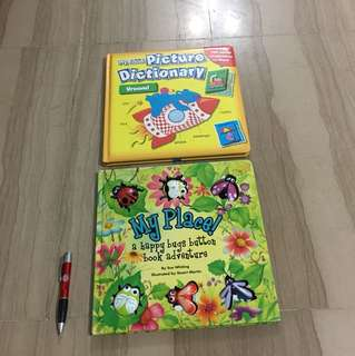 Set of 2 Hardcover books (1-3 years)