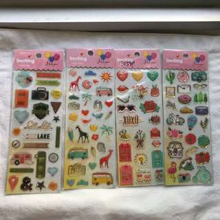 Crystal Stickers with slight defect