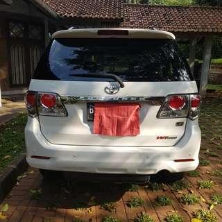 Toyota Fortuner VNT Diesel 2013