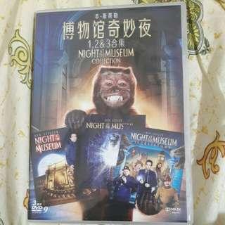 正版 侏羅紀博物館 1-3集 DVD 中文字幕