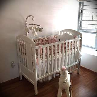 Baby Cot - adjustable child's bed
