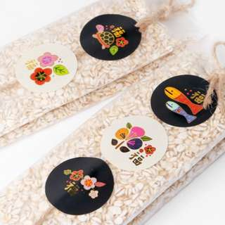 Cookie Labels: CNY stickers