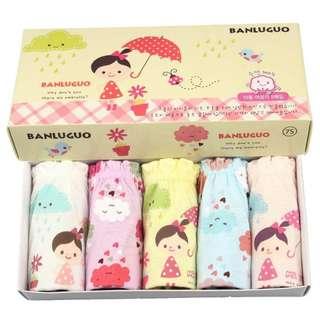 Girl kids underwear panty - korea branded