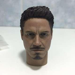 1/6 Tony Stark Ironman head