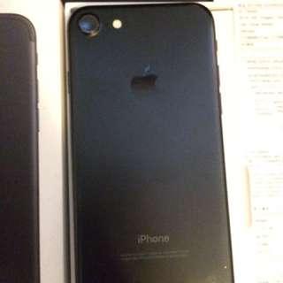 Iphone7 細機黑色 128GB