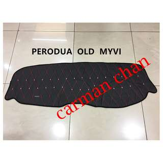PERODUA OLD MYVI DAD NON SLIP DASHBOARD COVER WITH DIAMOND