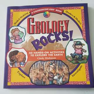 Geology rocks : Earth Science Activities for kids