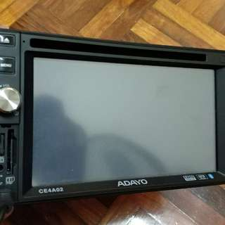 Double Din Player Touch Screen Papago
