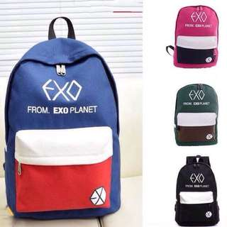 Ready Stock 💗 Exo Backpack