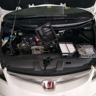 Honda Civic/crossroad/stream Hurricane Air Filter