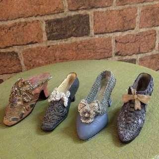 Antique Mini Shoes Collectibles