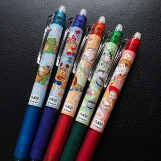 5pcs Disney Toy story Limited Edition Pilot Fixion 0.5mm Pens