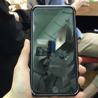 二手 IPhone7 plus 亮黑色 128gb