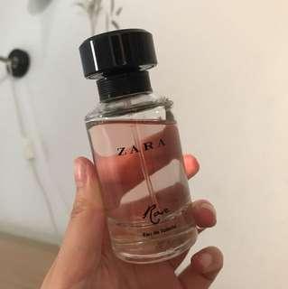 Parfum Zara Rose perfume fragrance vanilla mist body