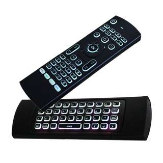 WIRELESS AIR MOUSE, KEYBOARD, REMOTE 3 IN 1 CONTROL FOR SMART TV, TV BOX ETC