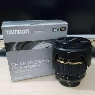 Tamron 17-50 F2.8 VC (Nikon mount)