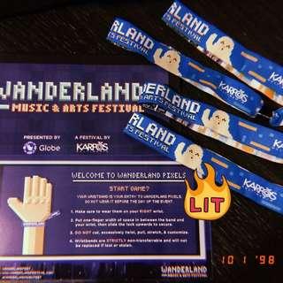 Buying VIP wristband for Wanderland Music Festival